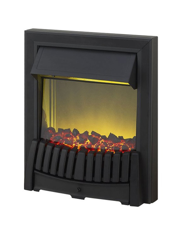 Elan Electric Fire in Black