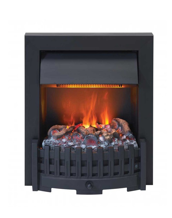 Danesbury electric fire in Black