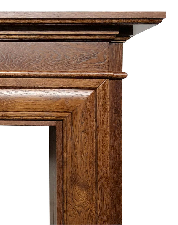 Close up of actual fire surround for sale
