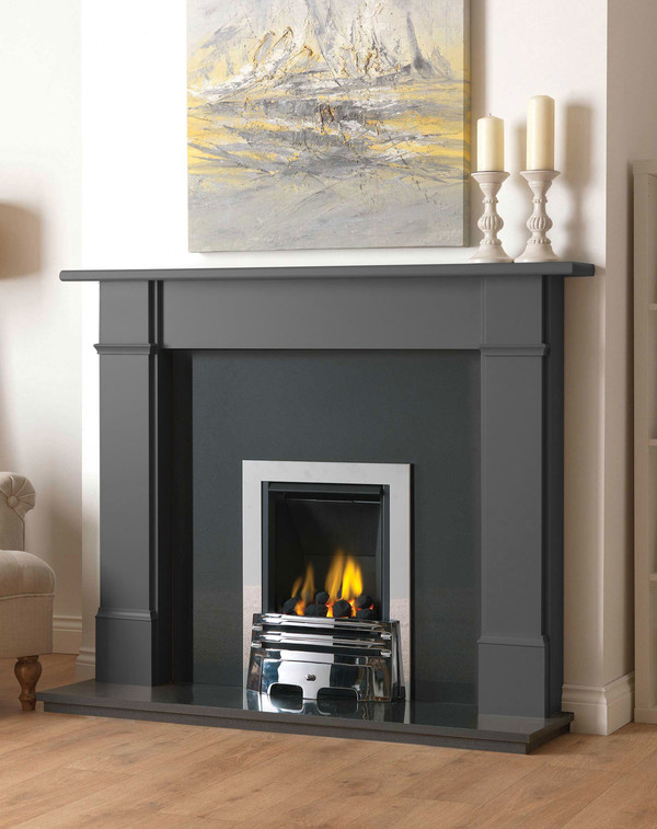 Fireplace Surround in Slate