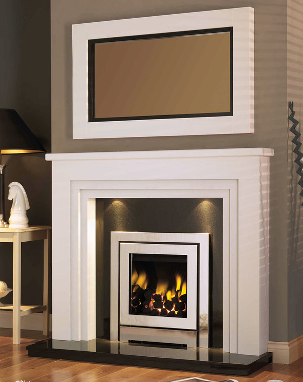 Westchester White Fireplace Surround