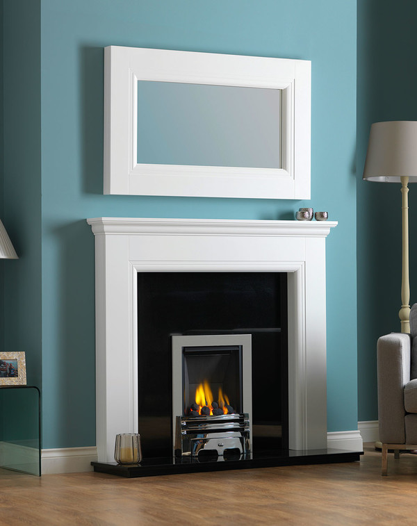 Rydale Fireplace Surround in Brilliant White