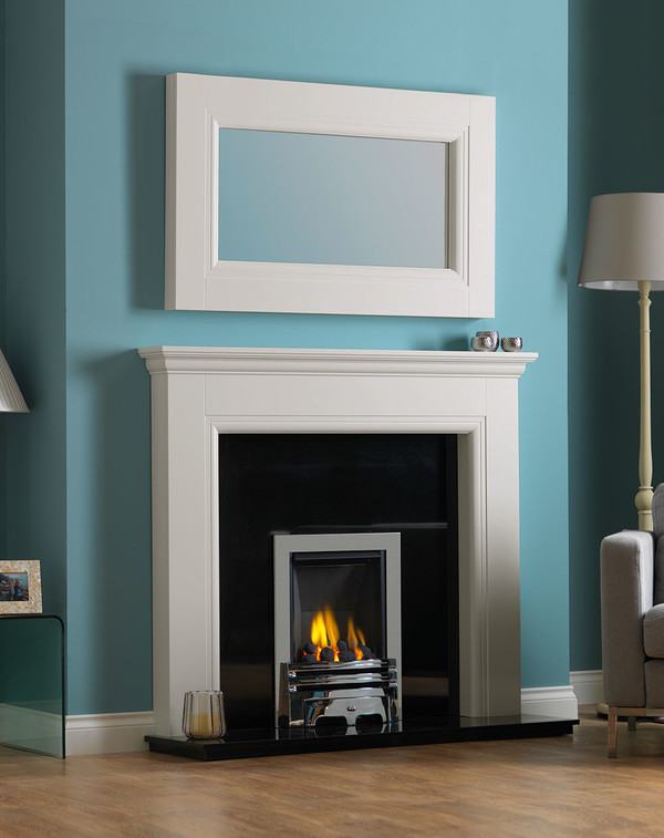 Rydale Fireplace Surround in Mist