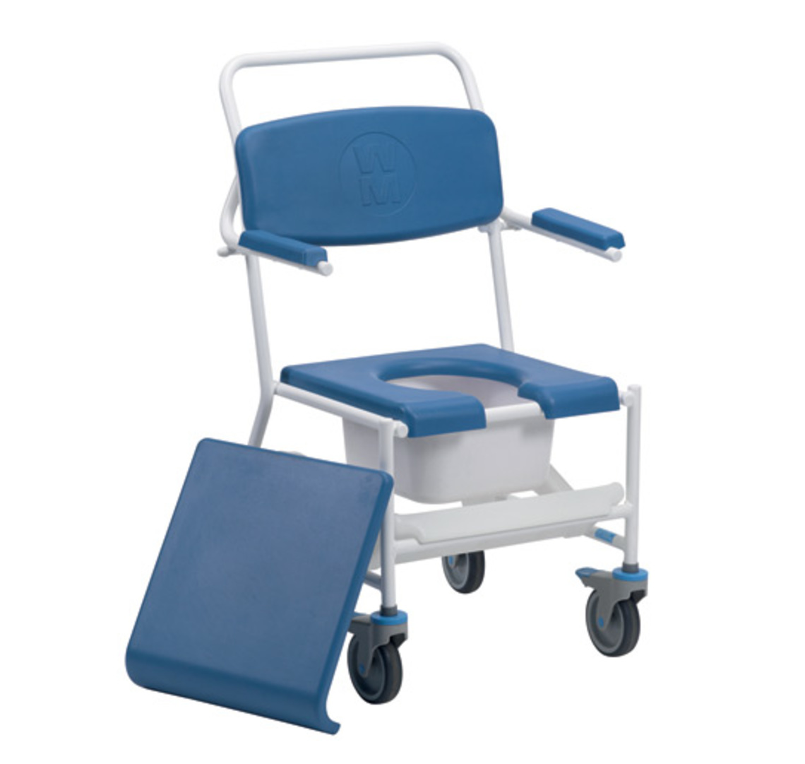 Uppingham Commode Mobile Shower Chair