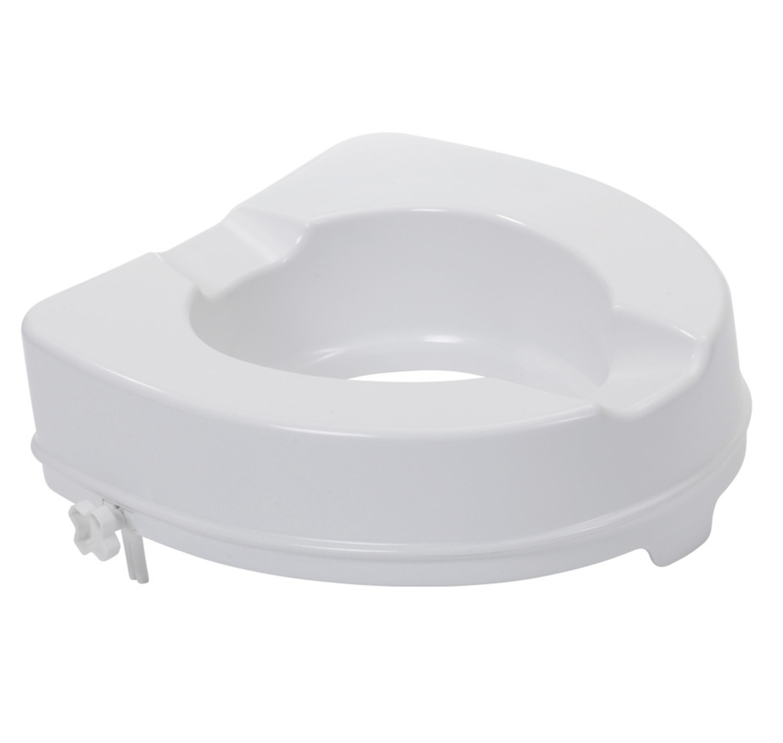 toilet seat no lid. 4inch Raised Toilet Seat  Raised Without Lid Toilet Seat