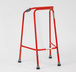 Red walking frame 10284rd 30 2800