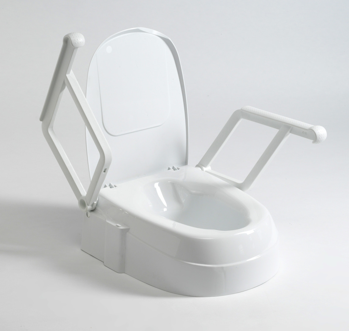 Drive Raised Toilet Seat With Arms.Raised Toilet Seat