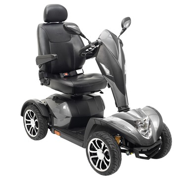 Cobra scooter silver cobrasil