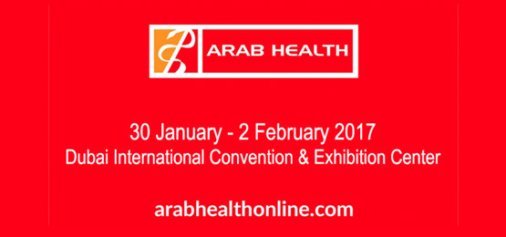 Arab health homepage