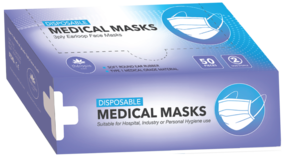 Face Masks (50 Pack)