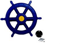 Piratenstuur | Blauw | 30cm