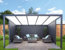 Gardendreams | Vrijstaande veranda met polycarbonaat dakbedekking