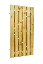 Plankendeur grenen | verstelbaar frame | 90 x 180 cm