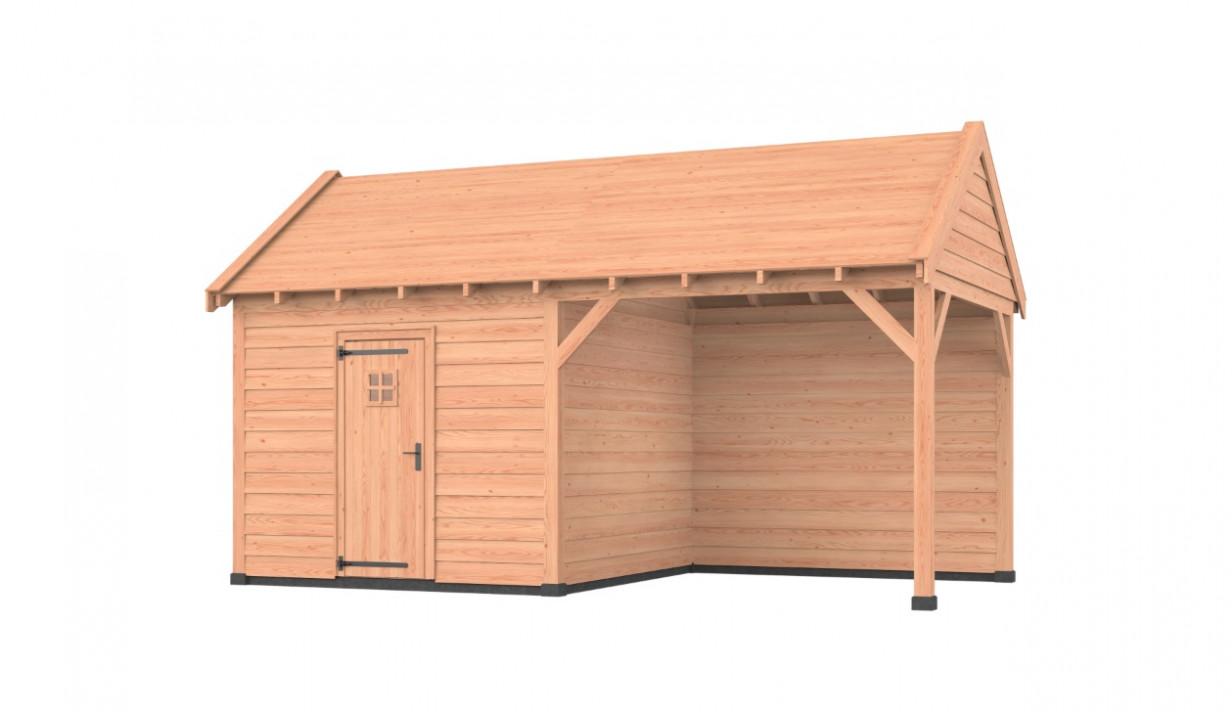 Westwood | Buitenverblijf Zadeldak Comfort | 600 x 300 cm | C5Z