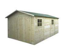 Gardenas | Garage 300 x 480 cm | Geïmpregneerd
