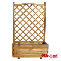 Elephant | Bloembak met trellis