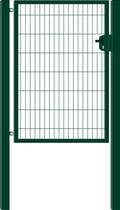 Hillfence | Eco enkele poort | 180cm | Groen RAL6009