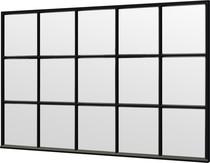 Trendhout | Steel Look raam module E-03 | 340.5x220 cm
