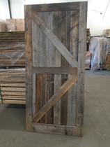 Barnwood | boeren opgeklampte deur | 100 x 215 cm