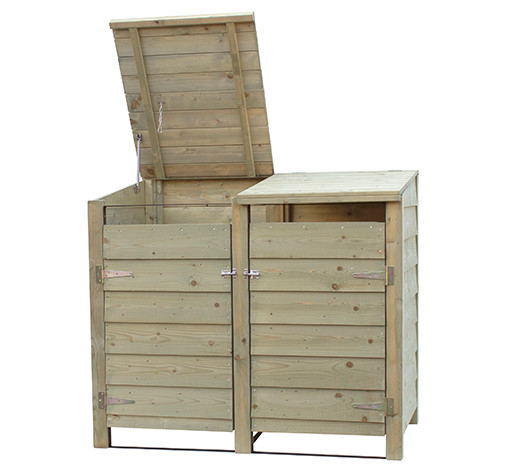 Woodvision Dubbele Containerkast