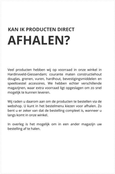 822f356d2813a5 Het afhalen van uw bestelling in Utrecht, Meer, Gouderak of Hardinxveld
