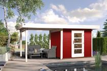 WEKA | Designhuis 172B Gr.2 | 530x240 cm | Zweeds rood