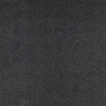 Gardenlux | Rubber speelplaatstegel met steekverbinding 50x50x4.5 cm | Zwart