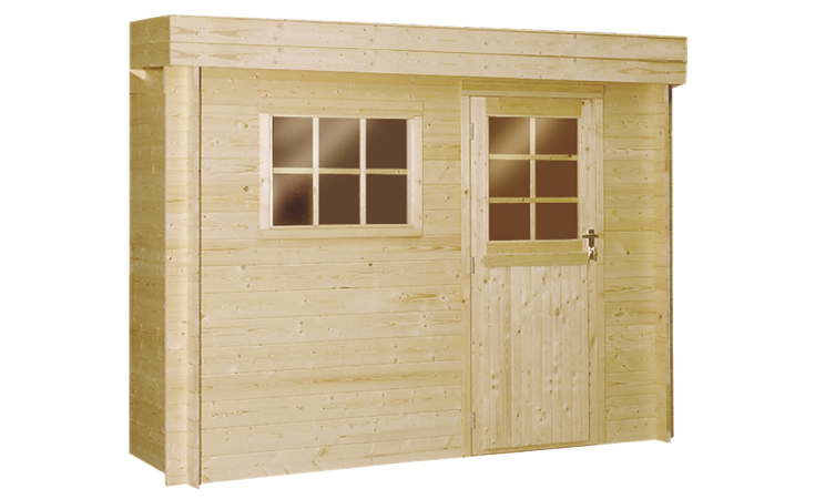 Woodvision | Blokhut Specht 297 x 250