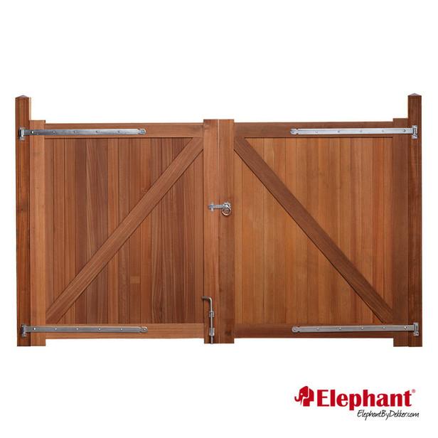 Elephant   Belmonte dubbele poort   300x180 cm