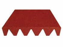 Aslon | Safe & Soft Tegel | 50 x 25 x 3 cm | Rood