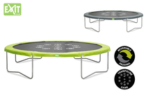 EXIT | Twist Trampoline 366 | Green Grey