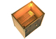 Karibu | Sauna Alabasta 1 met 9 kW saunakachel