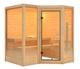 Karibu | Sauna Sahib 1 met 9 kW saunakachel