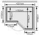 Karibu | Sauna Sahib 1 met 9 kW bio-combikachel & kroonlijst
