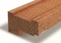 Meranti kozijnhout profiel-A 66x110 mm