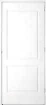 Vuren FSC boardpaneeldeur (78 x 211.5 cm) met kozijn (56 x 120 mm) linksdraaiend