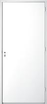 Hardhout FSC hardkunststofdeur (88 x 211.5 cm) met kozijn (56 x 90 mm) linksdraaiend