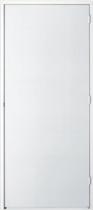 Hardhout FSC deur 30 min. brandwerend (83 x 211.5 cm) met kozijn (56 x 90 mm) linksdraaiend