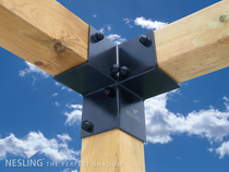 Nesling | Pergola Kit hoek element | 2 stuks