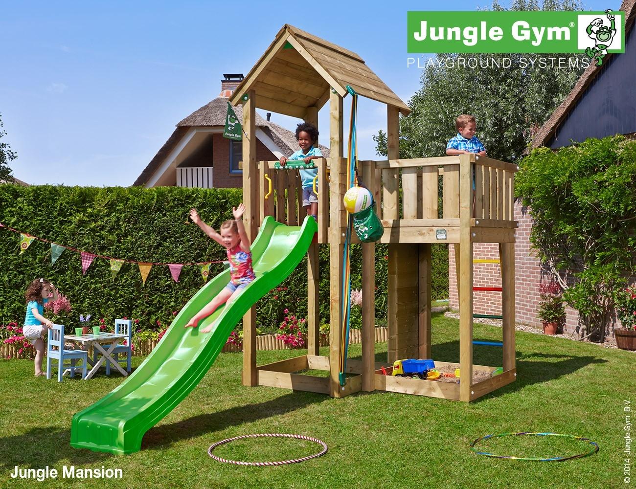 Jungle Gym | Mansion | Appelgroen