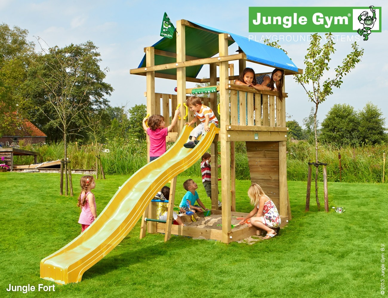 Jungle Gym   Fort   Appelgroen