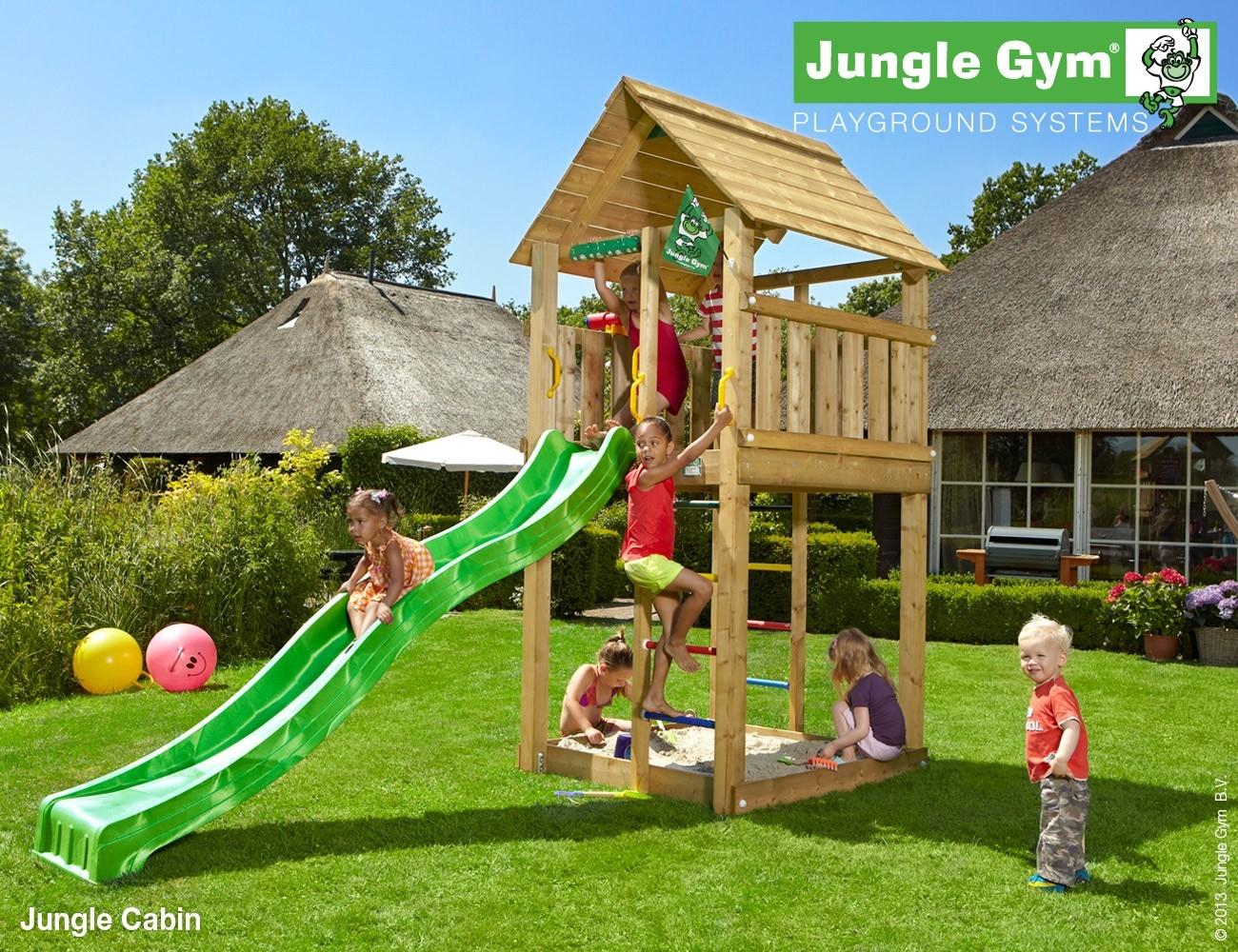 Jungle Gym   Cabin   DeLuxe   Geel