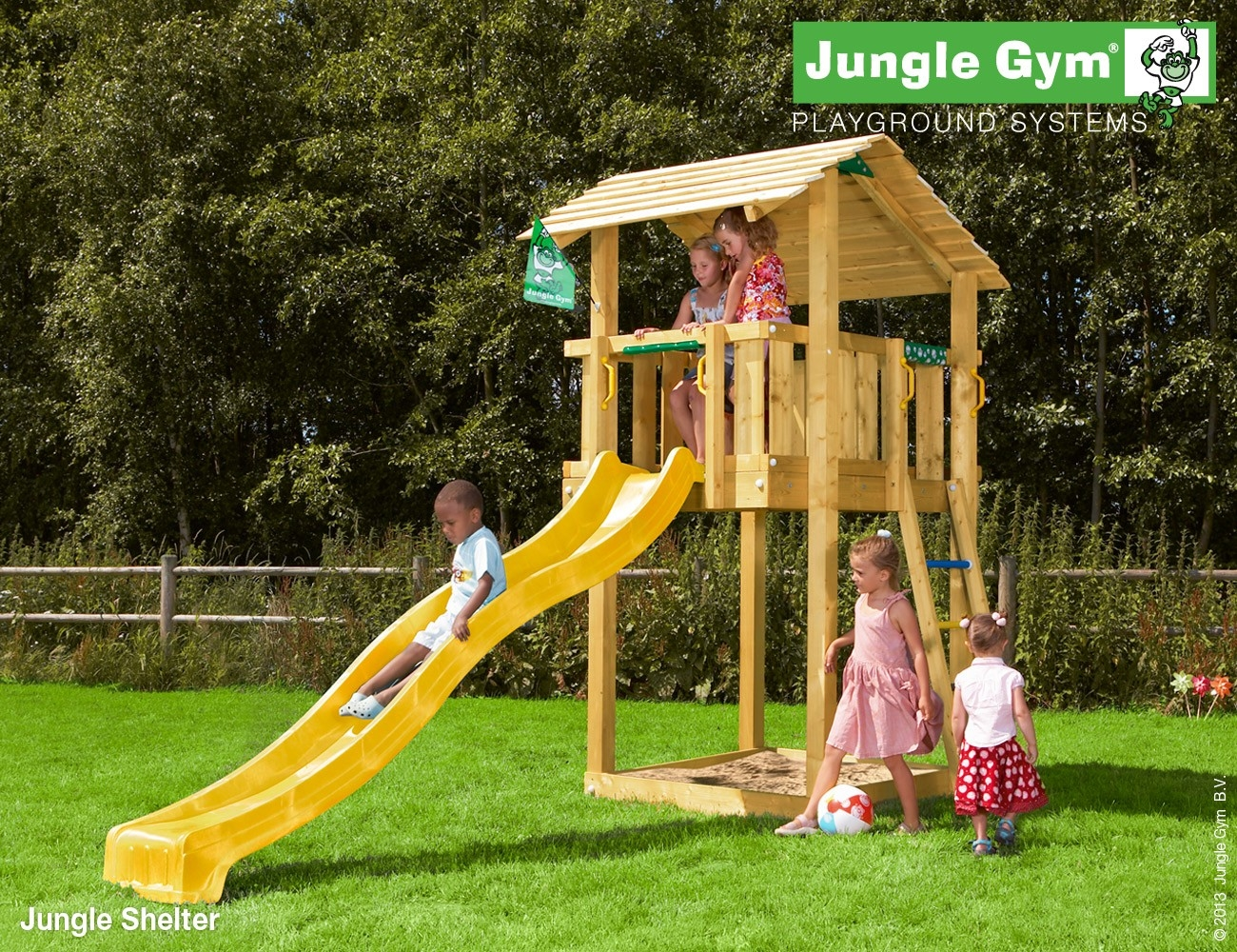 Jungle Gym | Shelter | DeLuxe | Blauw