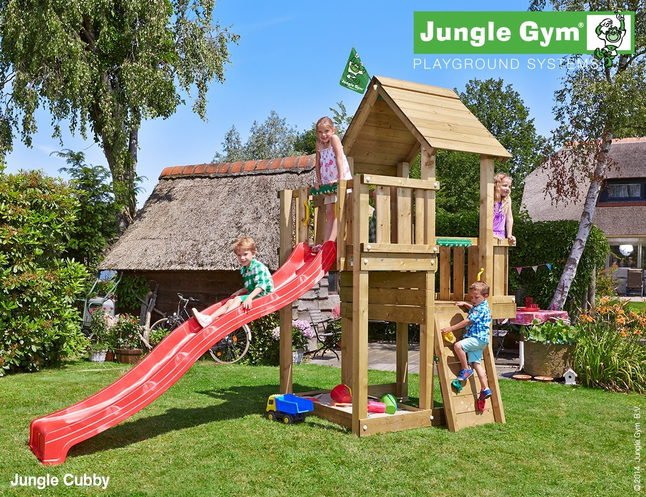 Jungle Gym | Cubby | DeLuxe | Blauw