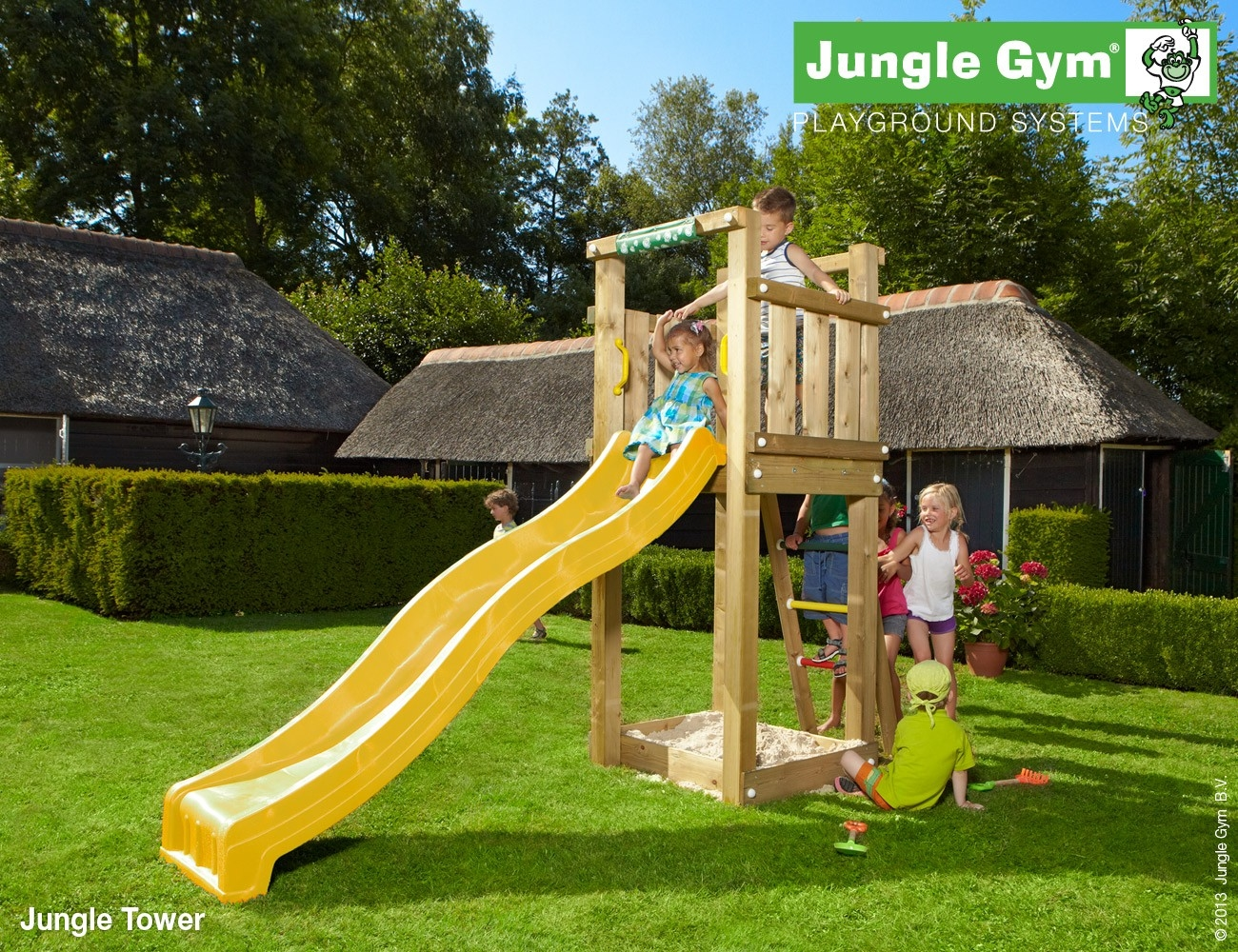 Jungle Gym | Tower | DeLuxe | Blauw