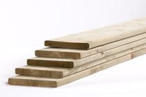 Tuinhout plank NE Vuren | 18 x 145 mm | 360 cm