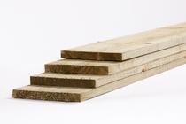 Tuinhout plank vuren | 23 x 200 | Ruw 500cm