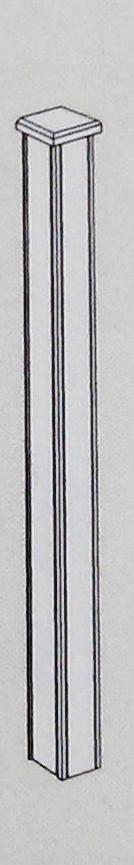 Dezepaal met hardhouten bekleding is in het bijzonder geschikt voor de plaatsing van de schuifpoort faro. ...