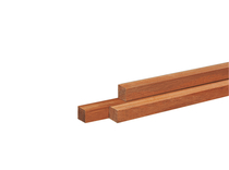 Hardhouten paal | 70 x 70 mm | Azobé | 350 cm