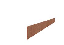 Hardhouten Strip / Strook | 6 mm | 400cm
